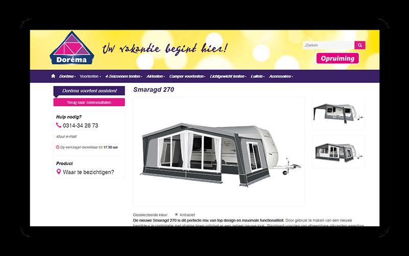 Website met Smaragd 270